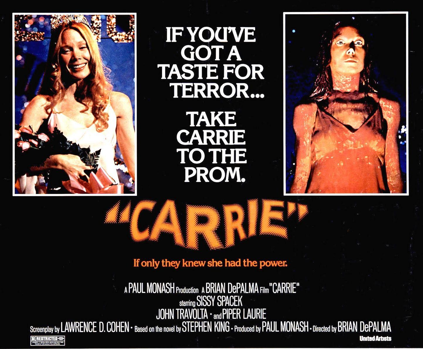 Happy birthday to Brian De Palma. Carrie, 1976.