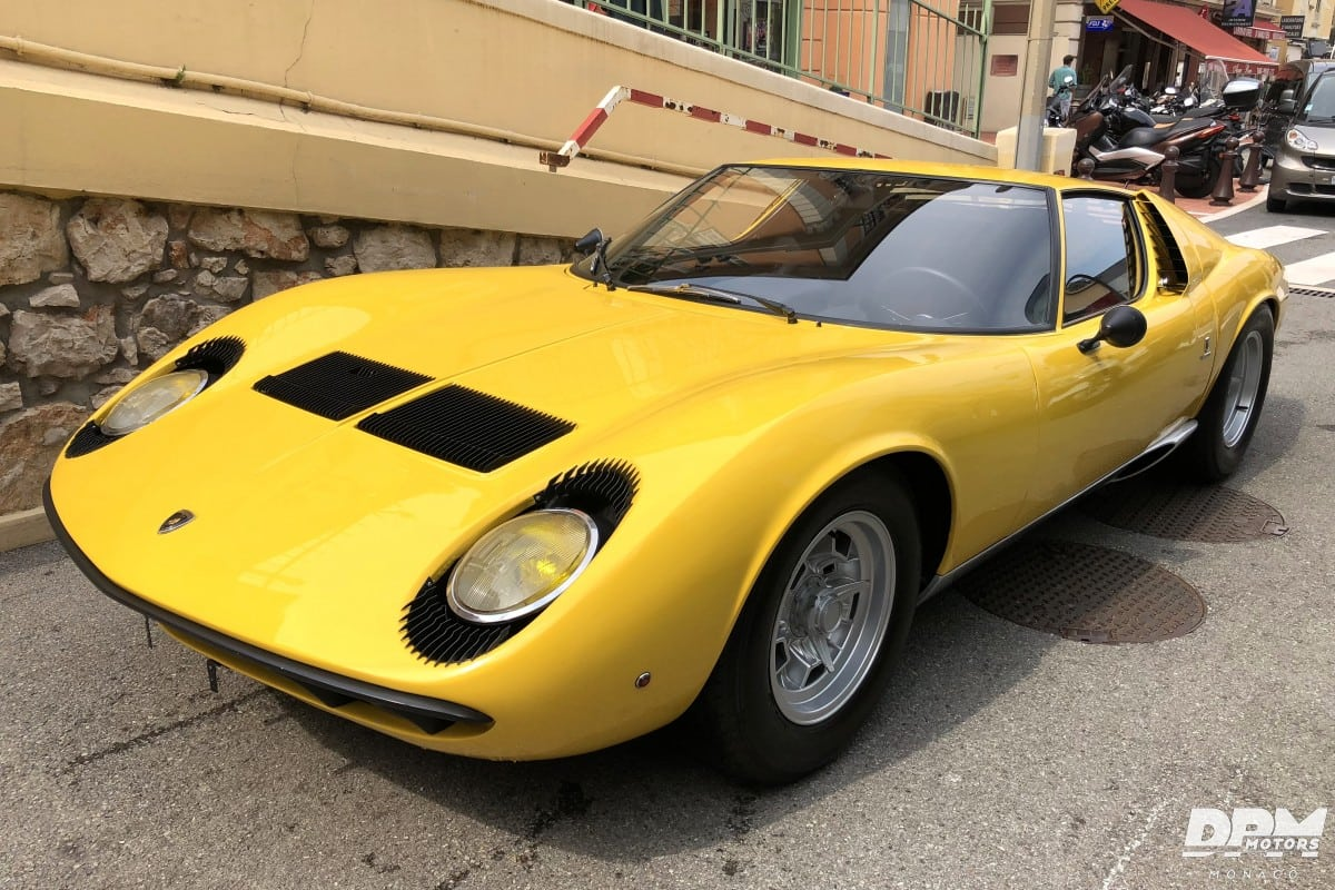 Classicracingad On Twitter Vends Lamborghini Miura P400 De 1968