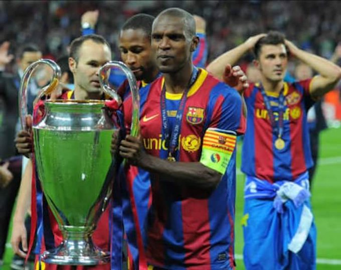 Happy Birthday Eric Abidal and Mateo Messi!