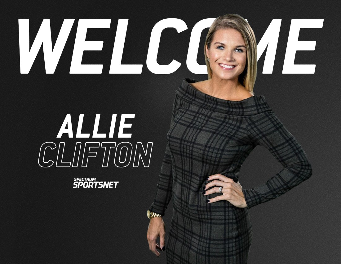 Spectrum Sportsnet On Twitter Welcome To The Team Realaclifton Allie Clifton Joins Our Spectrum Sportsnet Team For The Upcoming Lakers Season As A Studio Host Https T Co 386kdaoqhv