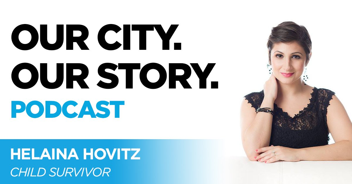 On 9/11, @HelainaHovitz was 12 years old and starting her second year of middle school. In this episode of OUR CITY. OUR STORY. Podcast Hovitz opens up about surviving the attacks. Listen now on @iTunesPodcasts and@Spotify .https://t.co/ugZzpKSeEe #911Memorial #911Museum