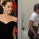 Image for the Tweet beginning: Angelina Sends Spies After Brad