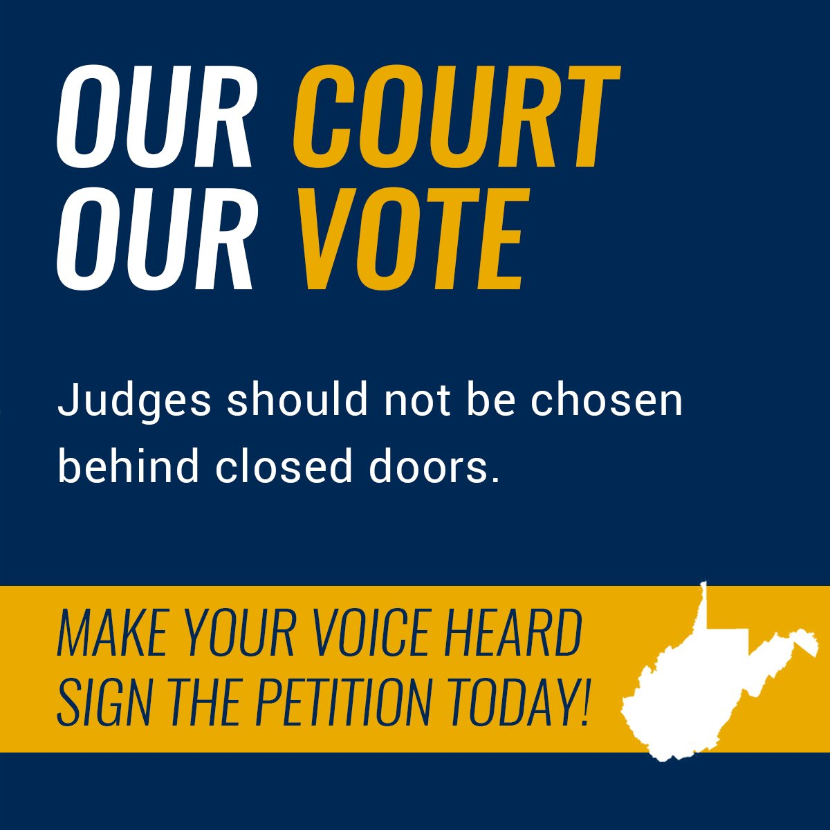 WV Clean Elections on Twitter: