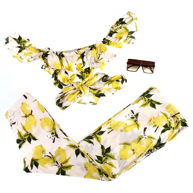 f511da6797dc9 ... out http   www.stepsnewyork.com for more  stepsnewyork  set  croptop   pant  lemon  yellow  endofsummer  sale  summer  beauty  onlinestore  ootd   trendy ...