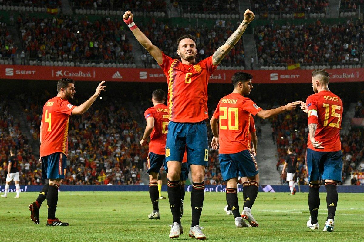 05108cfba80c5 Espanha atropela vice-campeã mundial Croácia  6 a 0 https   t