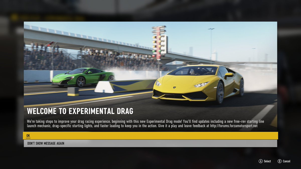 FEEDBACK WANTED: Experimental Drag - Page 13 - Forza
