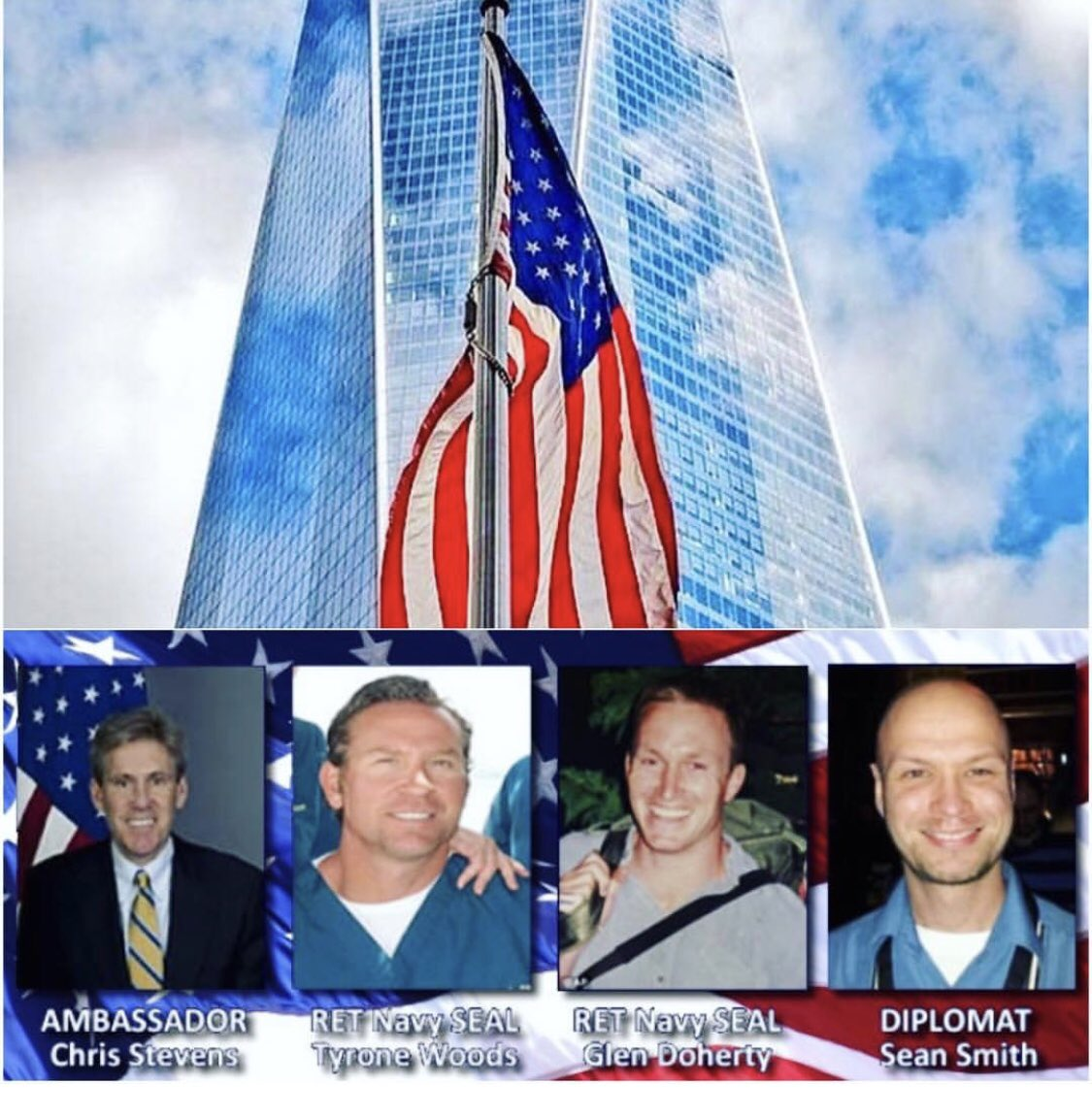 Take a moment to remember those we lost on 9/11/01 and 9/11/12