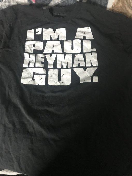 Happy birthday   Paul and yes I am a Paul Heyman guy!
