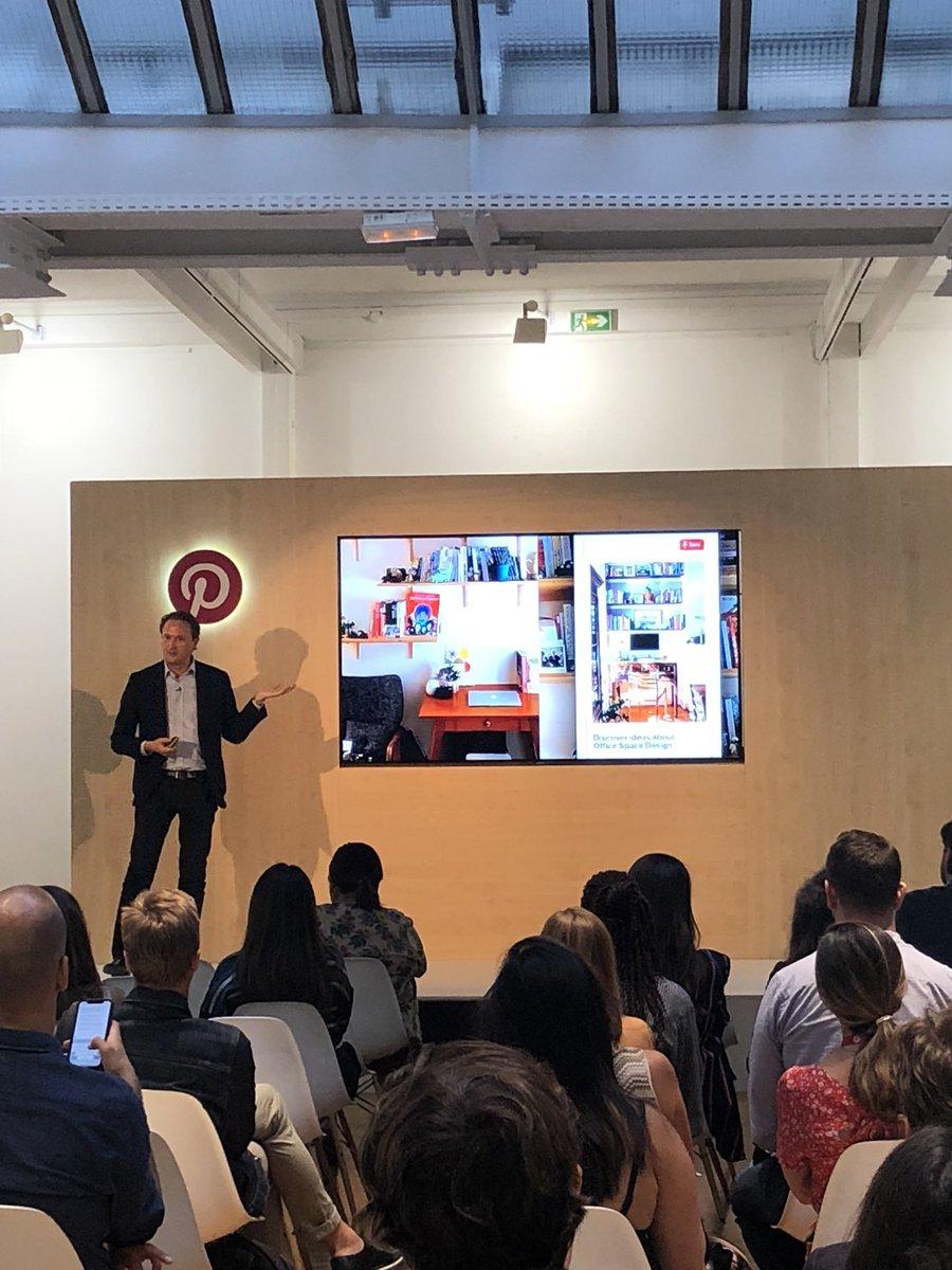 «Des millions de gens viennent sur #Pinterest pour chercher l'inspiration et réaliser leurs projets au quotidien» Adrien Boyer, Regional Manager chez Pinterest  @adrienmboyer #pinterest #pinterestadslaunch