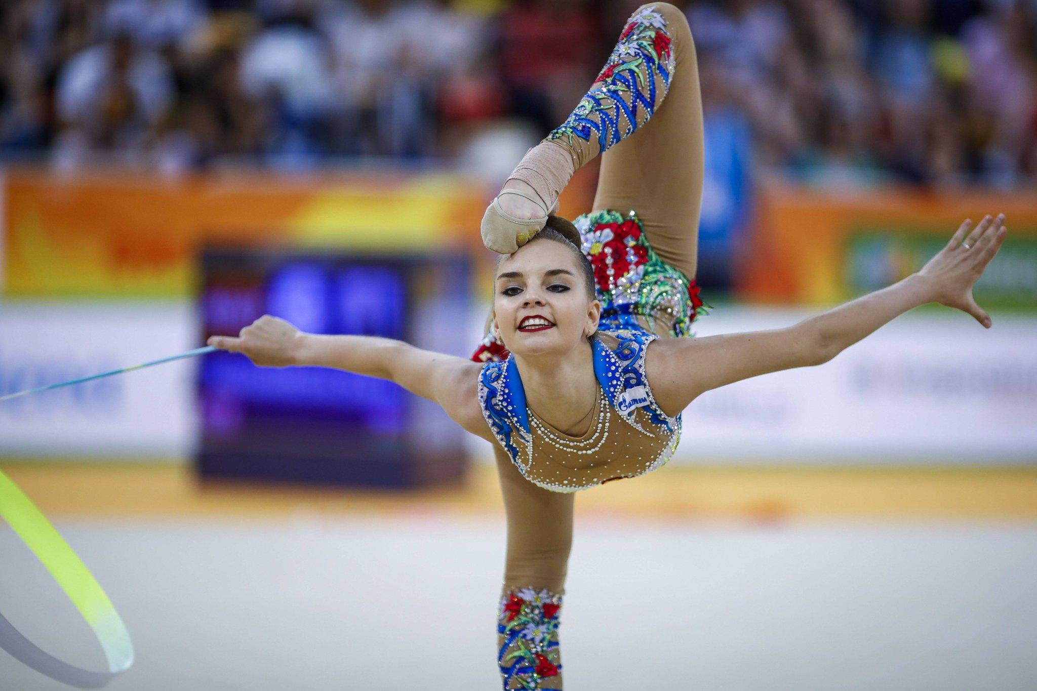 фото гимнасток россии по художественной гимнастике вас идеальная кожа