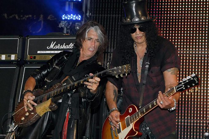 Guns N Roses Members Wish Joe Perry a Happy Birthday!