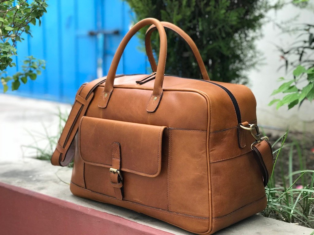 ... Leather Travel Bag Bag, Genuine Leather Travel Bag, Mens Leather Duffel  Bag, Women Day Trip, Weekender Bag Leather Weekend https   etsy.me 2N2N7GV  ... c02ec233be