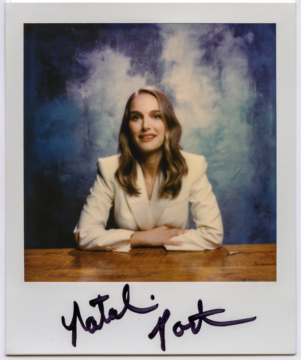 Natalie polaroid for LA Times (2018)