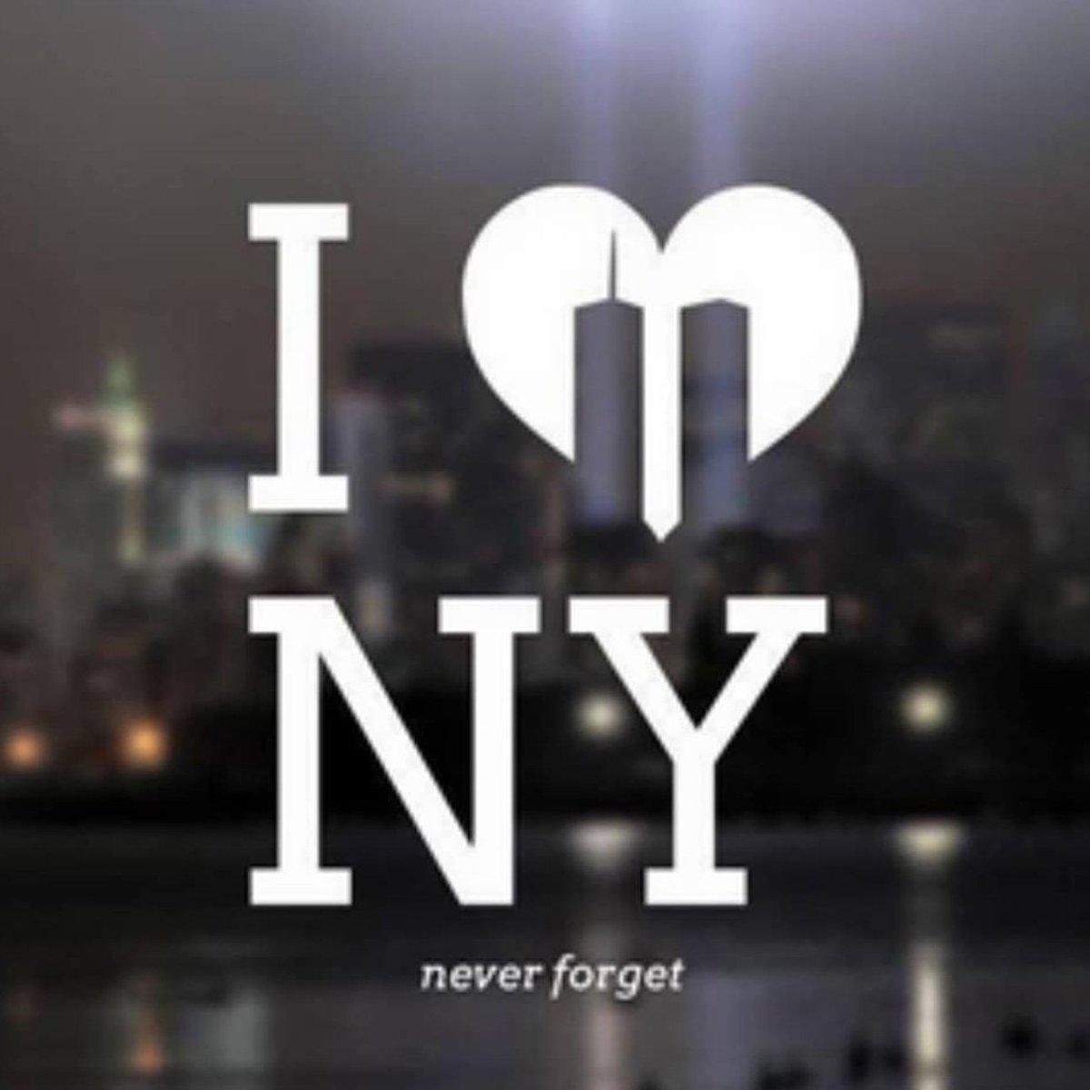 Never forget.  #911Memorial