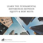 What are the differences between Equity REITs and Debt REITs? Read about the differences here - https://t.co/RRvV6fRiDN