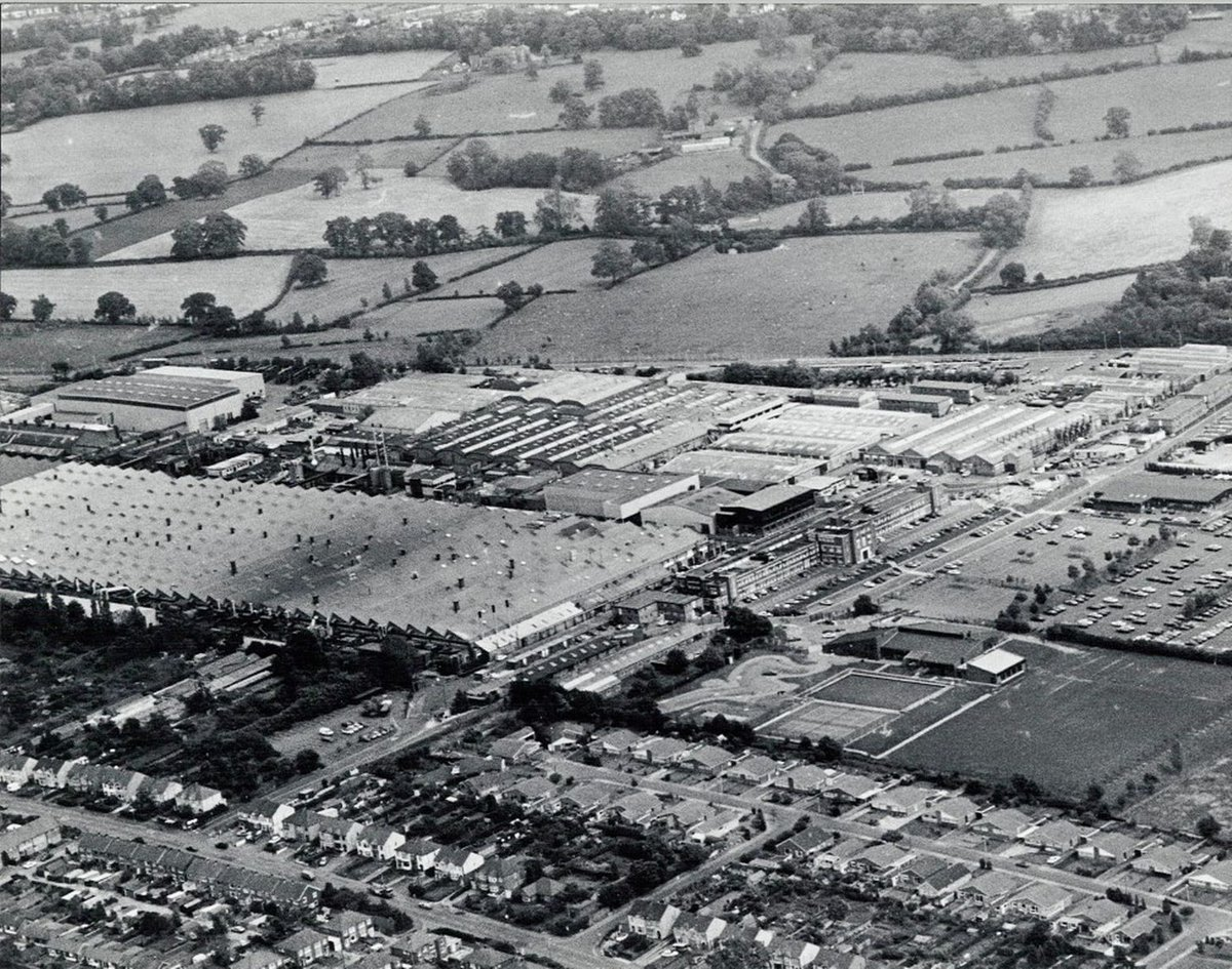 Frank Csaszar On Twitter An Aerial View Of Jaguars Browns Lane Plant Coventry 26th July 1988