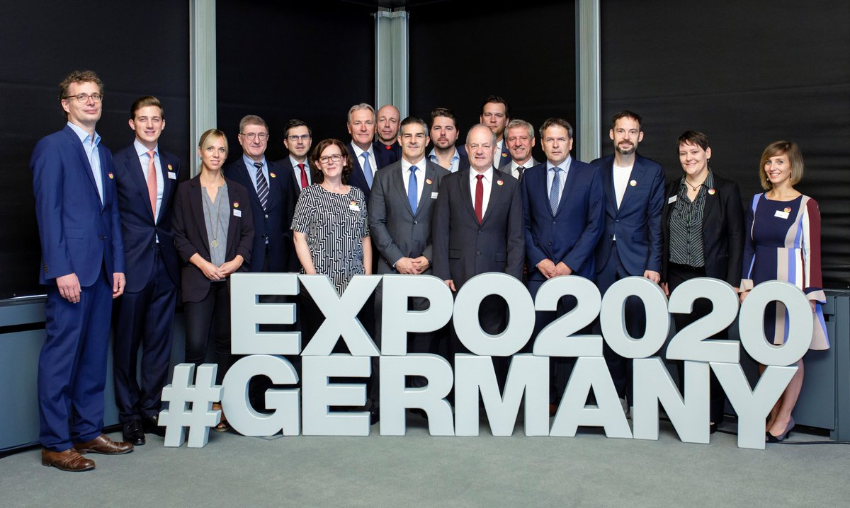 New partners for #Expo2020: The 🇩🇪team is growing. This time our German Pavilion Expo 2020 Dubai Consortium will join us to present the concept for the #GermanPavilion @expo2020dubai next week in #Dubai #UAE #Weltausstellung #BMWi_bund #koelnmesse #DeutscherPavillon #Germany