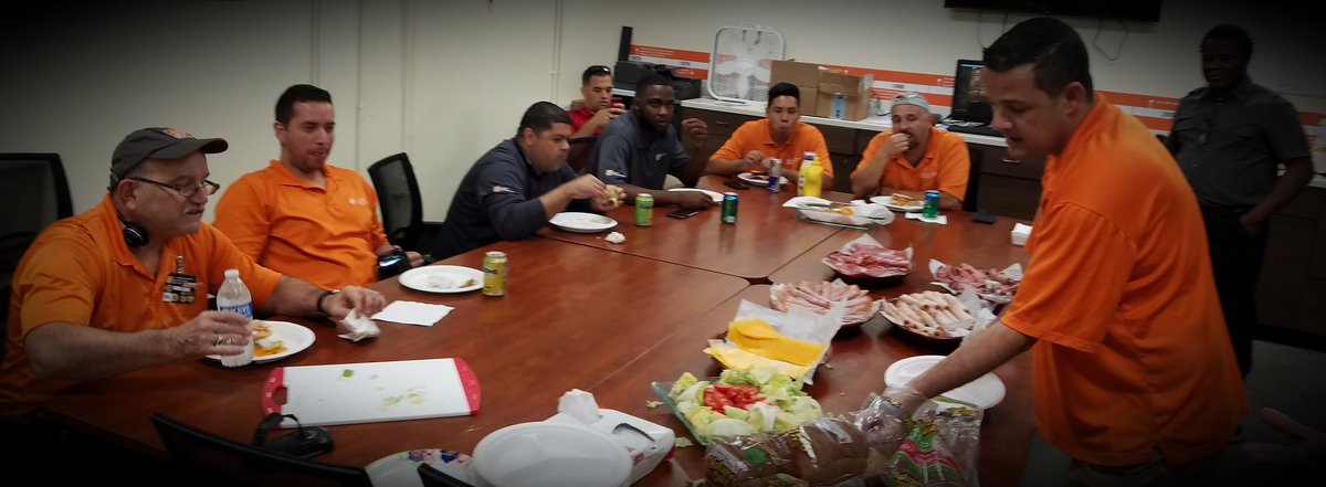 With an assortment of nearly 20 lbs worth of meats and cheeses, we were able to express our appreciation to all @6372HomeDepot #Metpartnership  @WardallyJ  @Marco_sflMEM
