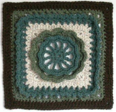The Crochet Dude On Twitter Free Crochet Afghan Square Pattern