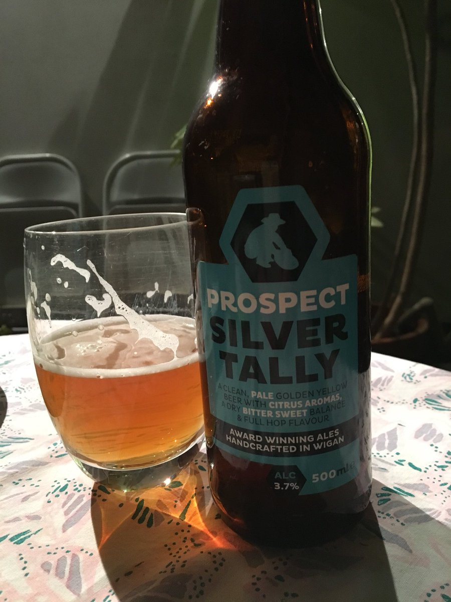And I'm pretty popular at home too @prospectbrewery @WiganCouncil