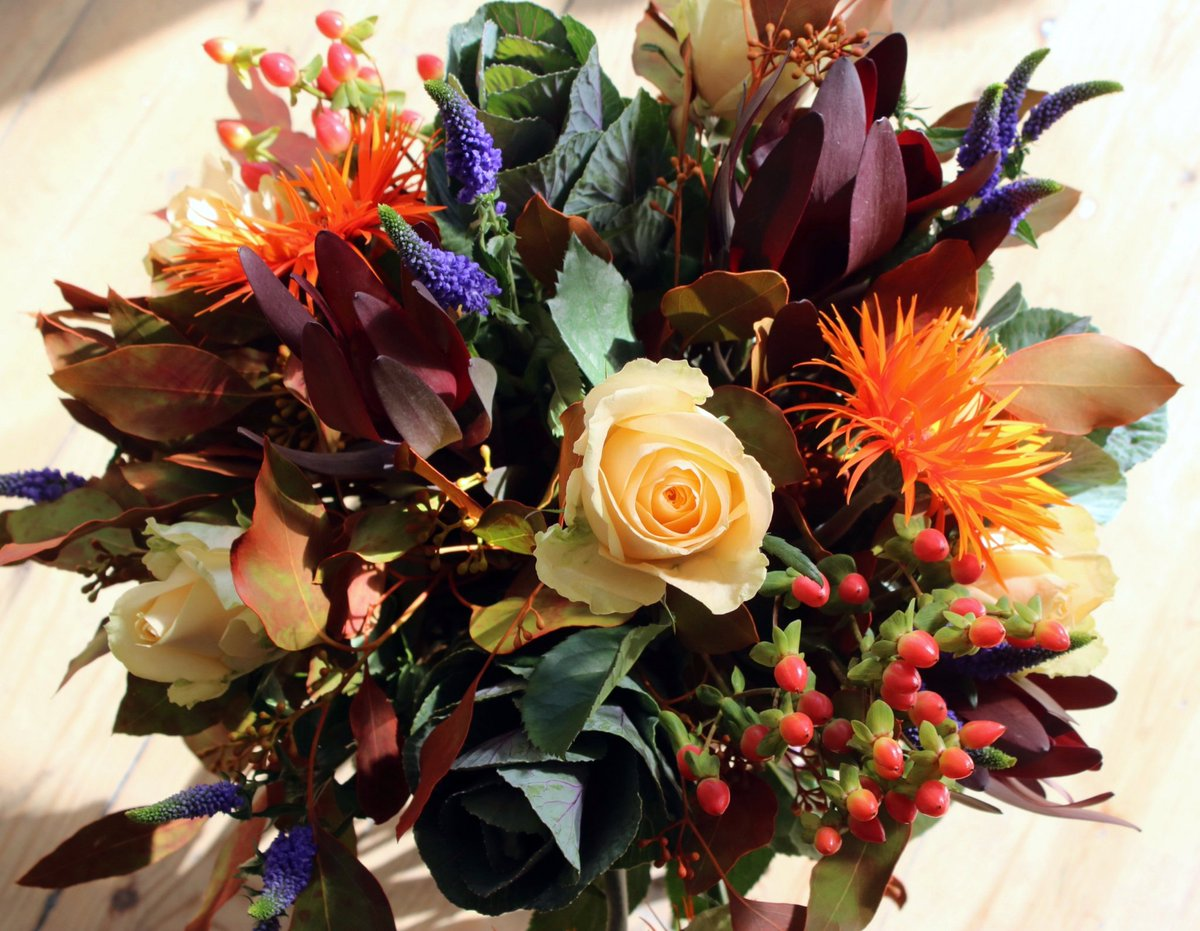 Bouquet hashtag on twitter 01943 462226 autumn colour flowers bouquet florist local otley orange red yellowpicitterj96md2s0te izmirmasajfo