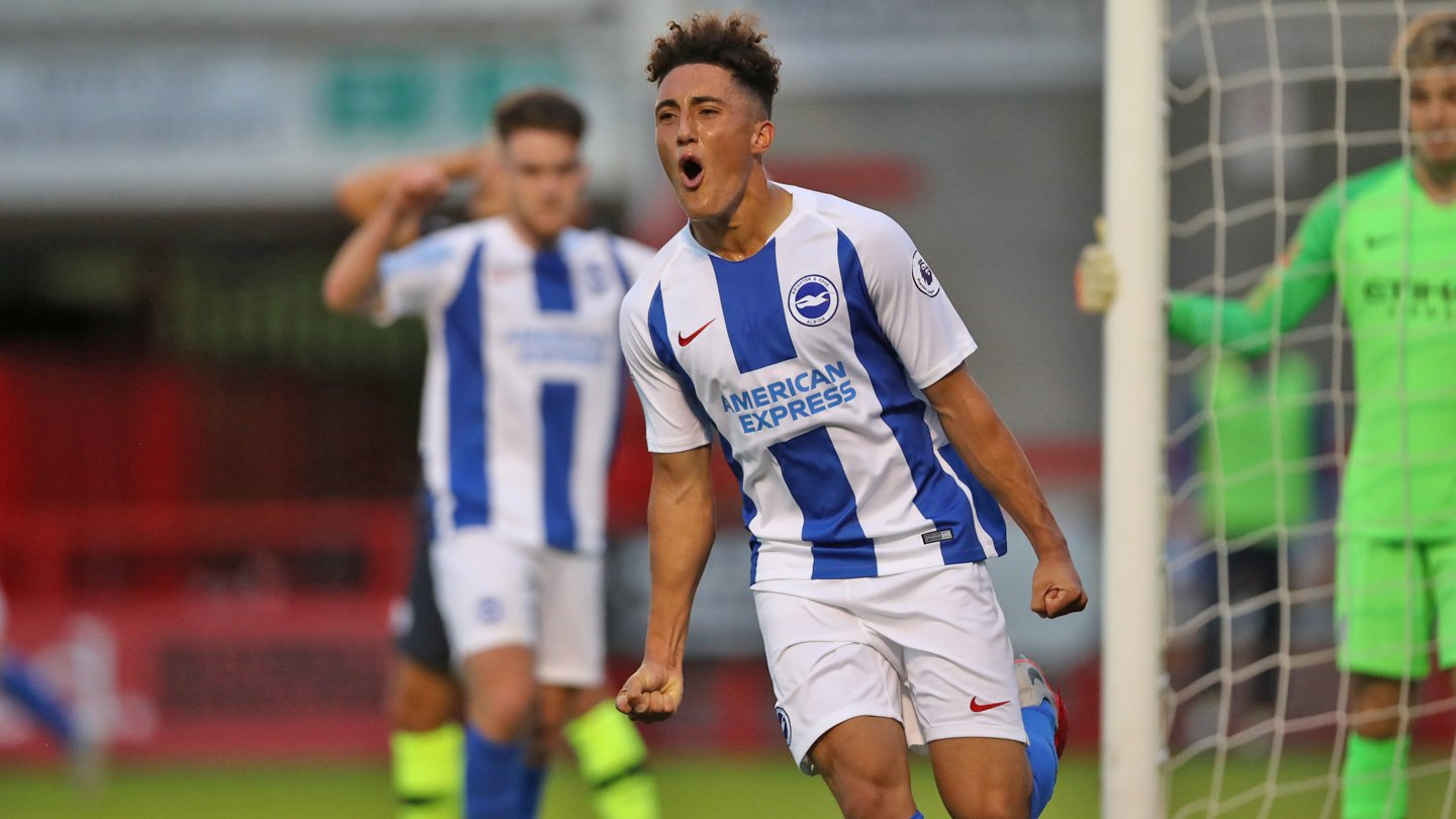 """Brighton & Hove Albion on Twitter: """"👏 Congratulations to Haydon Roberts! 🏆 The 16-year-old, who scored for Albion's under-23s last month, has helped @England's under-17s win the Syrenka Cup. ⚽️ What a"""