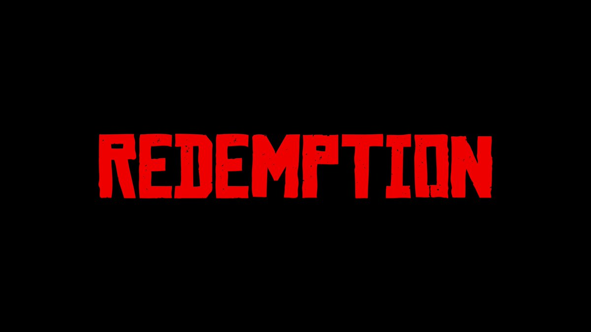 Retweet for a chance to win the REDEMPTION t-shirt.  Rules: https://t.co/2GlLLEWaFA