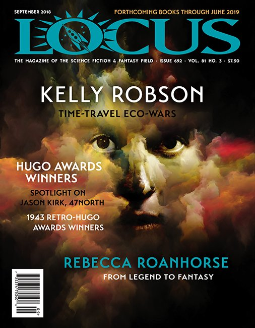 The September issue features interviews with @kellyoyo and @RoanhorseBex, a column by @doctorow, Forthcoming Books, a spotlight on @brasswax of @47northco, @GRRMspeaking in Conversation w/@JohnPicacio, many short fiction and book reviews, and much more! locusmag.com/2018/09/issue-…