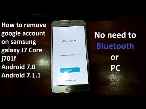 how to remove a google account