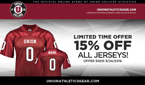 Now s the time to get your own jersey to show your Union pride! Visit  http   www.unionathleticsgear.com  for 15% off jerseys or anything you  might need for ... 9288e08e7