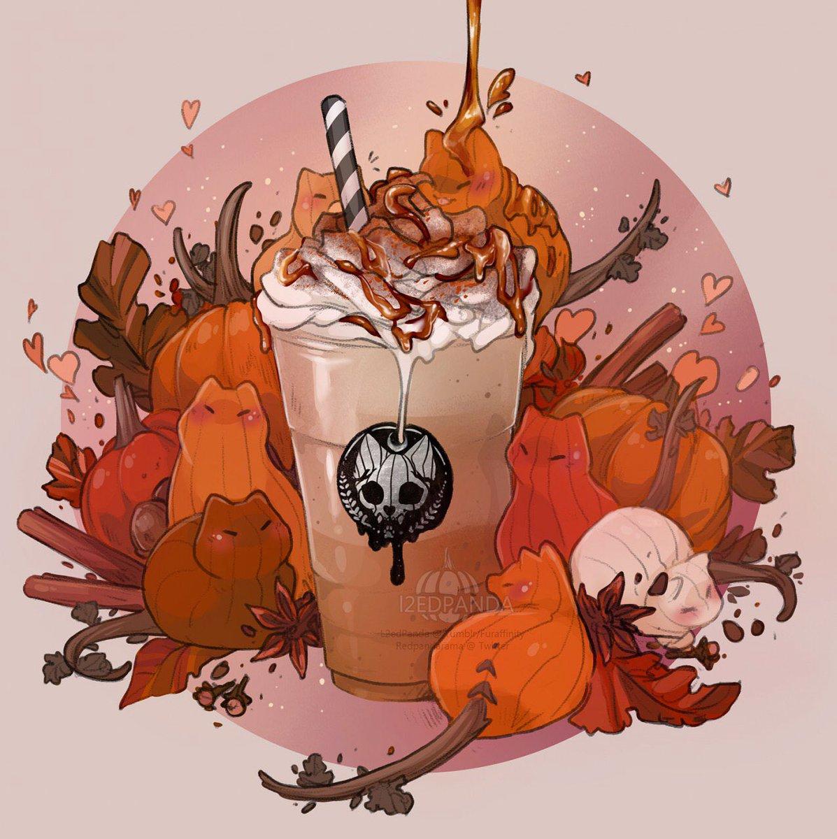 Pumpkitten Spice Latte 🐾