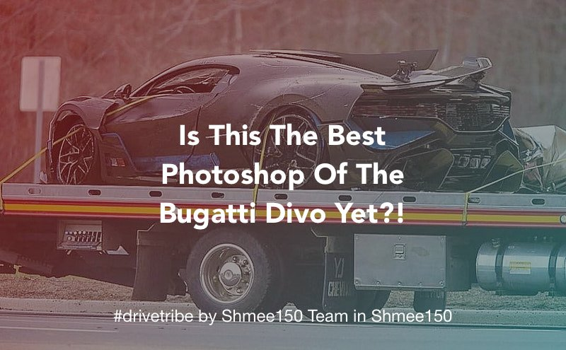 Drivetribe On Twitter Is This The Best Photoshop Of The Bugatti