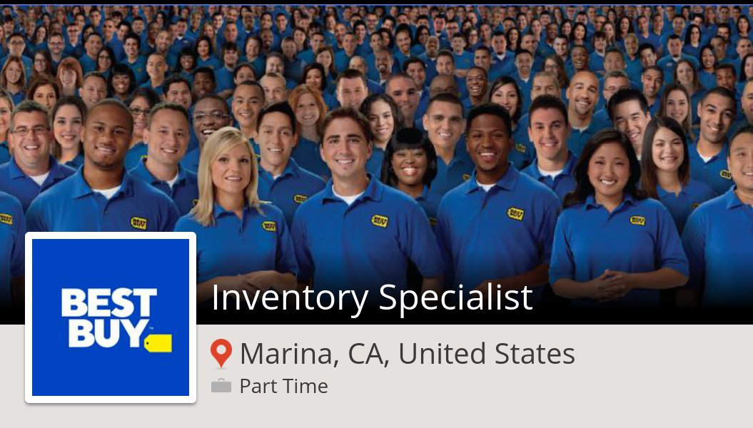 Veronica Kerrigan On Twitter Bestbuy Is Hiring An Inventory