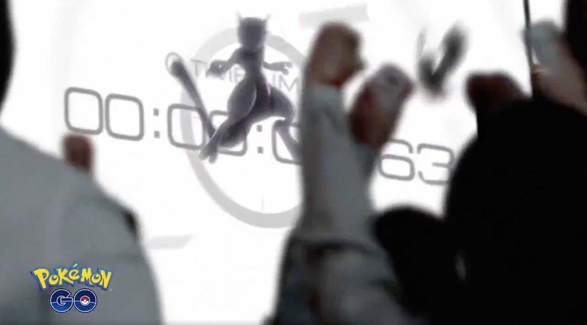 ポケモンGO、ついに全トレーナーに「ミュウツー」をゲットするチャンス到来だぜ! #ゲーム #スマートフォン #iPhone https://t.co/bbcBVIGaPa