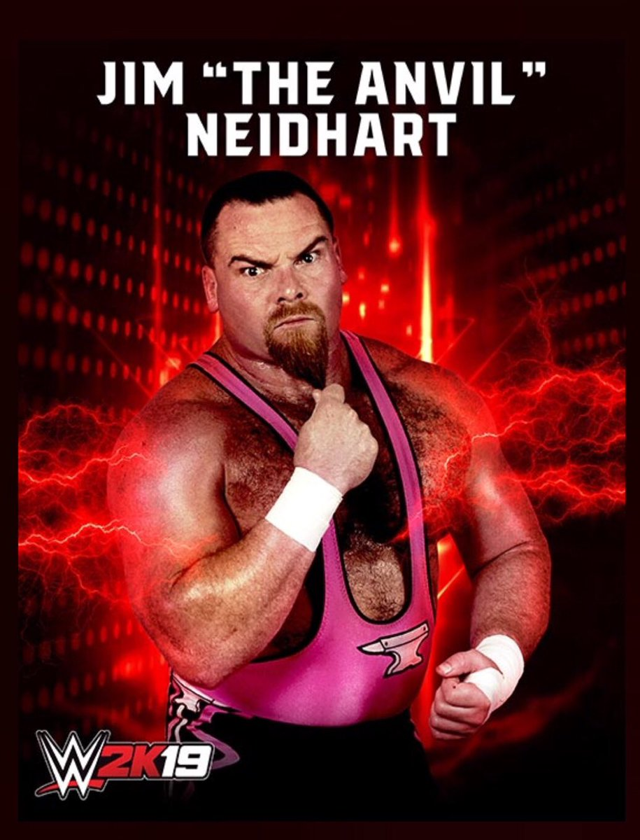 So awesome to have my dad join me in the new game! #WWE2K19 @WWEgames #NEIDHARTFOUNDATION 💕🖤