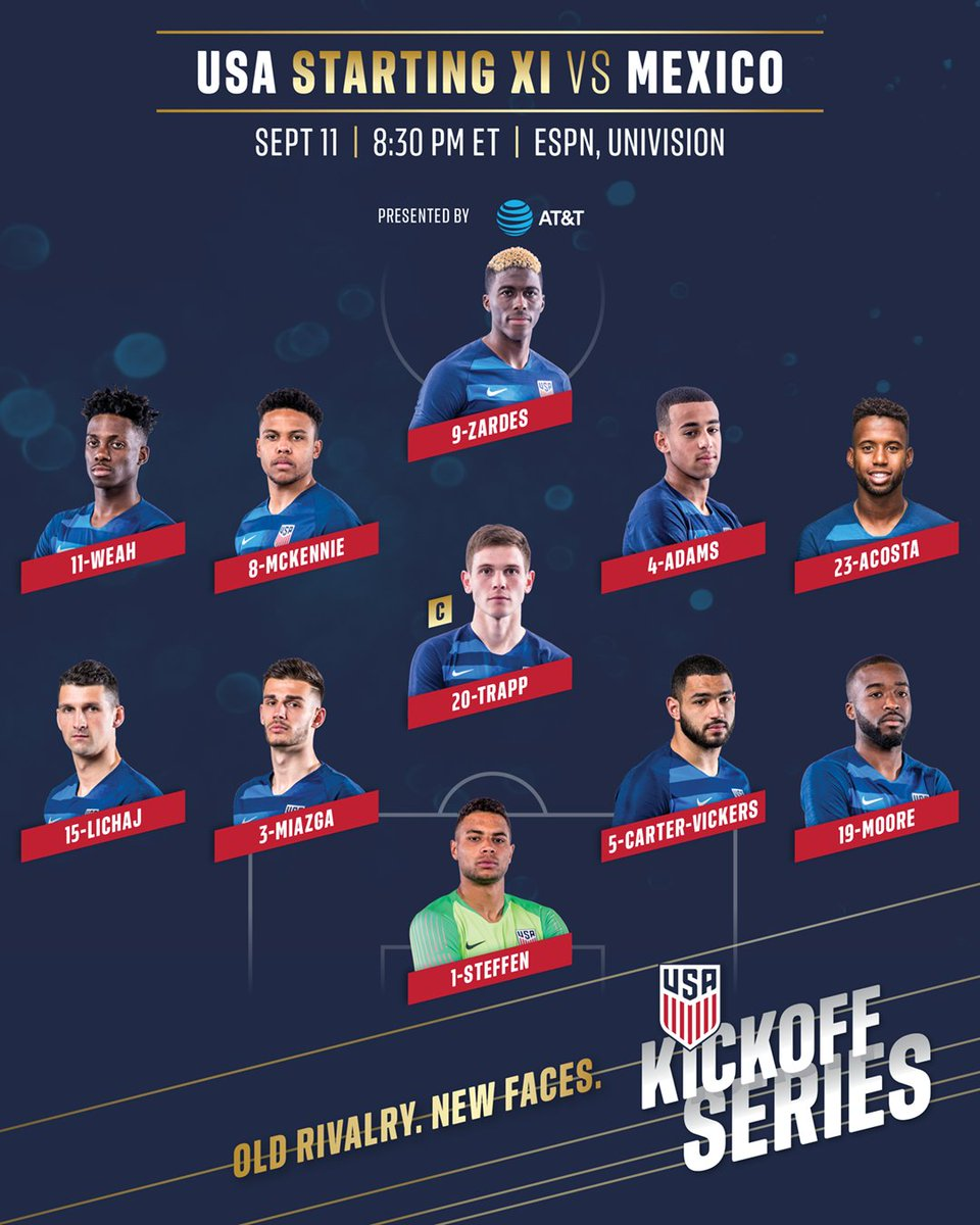USMNT-Mexico meet in Nashville
