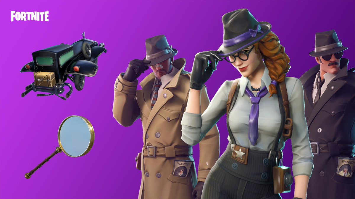 Detective Outfit Fortnite Rainruto On Twitter To The Kamen Rider Fans Out There Playing Fortnite Someone Or Epicgames Is A Tokusatsu Fan Just Saying The Detective Set Is Called Hardboiled I Ve Watched Read