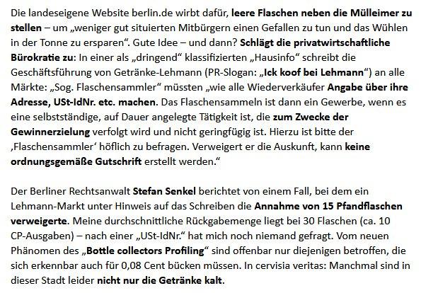 Kanzlei Hoenig On Twitter Ick Koof Nich Mehr Bei Lehmann Via