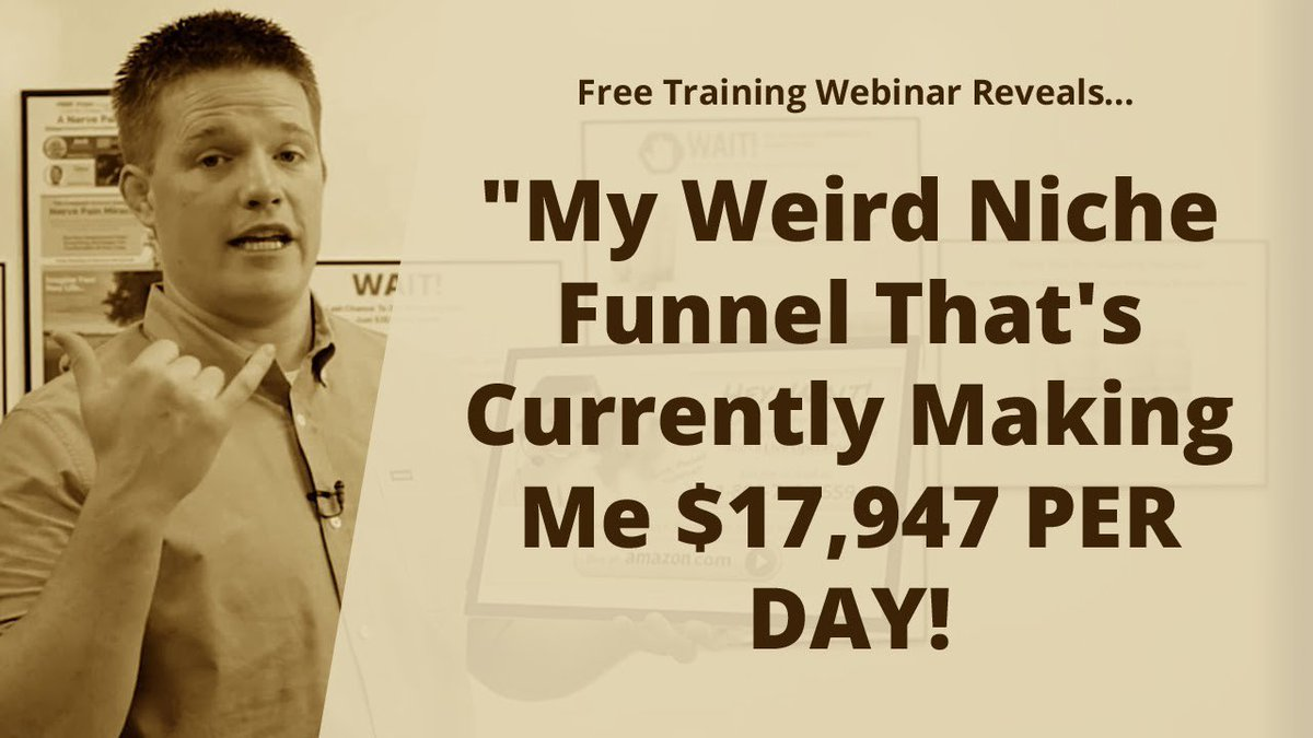 Free Training Webinar 🔥 Weird Niche Funnel That's Currently Making me $17,947 PER DAY! 🔥 http://bit.ly/Fhw17947   #marketing #business #realestate #sales #facebook #facebook #training #coaching #instagram #onlinemarketing #personalization #podcasting