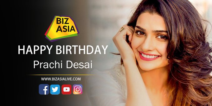 wishes Prachi Desai a very happy birthday.