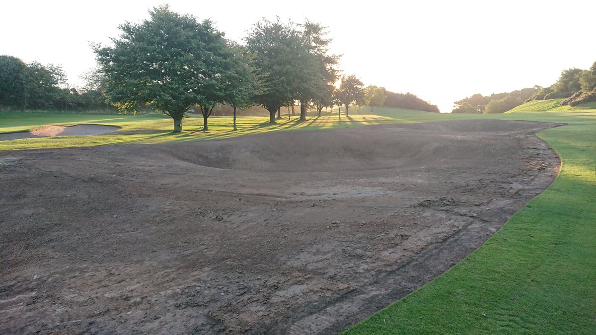 test Twitter Media - Stage 1 of the 2nd hole build is complete so contractors are off to 18th now. 2nd hole fully open again and GUR on affected areas.  Temporary green in place at 18th. https://t.co/8fmKk5NSir