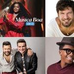 #MusicaBoaAoVivo Twitter Photo