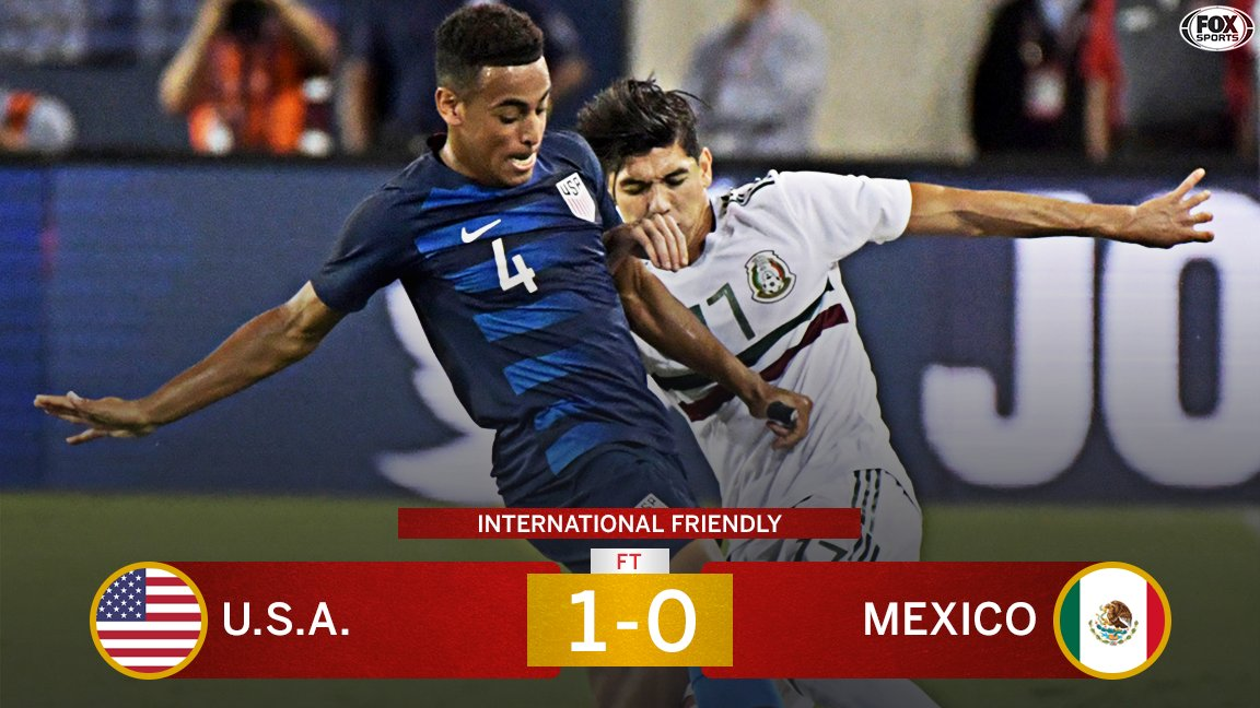 Tyler Adams first international goal gives the USMNT their first win over Mexico since April 2015.
