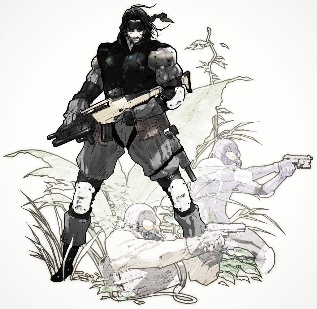 Miguel Redman On Twitter I Like This Art From Metal Gear
