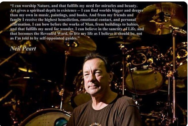 Happy Birthday to the man...the myth...the legend Neil Peart :-))