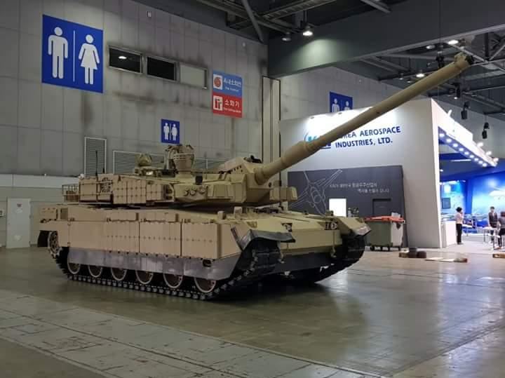 بلد شرق اوسطي واحد على الاقل يبدى اهتماما بشراء دبابات  K2 Black Panther الكوريه الجنوبيه  Dm3dxT-X0AAe1mb