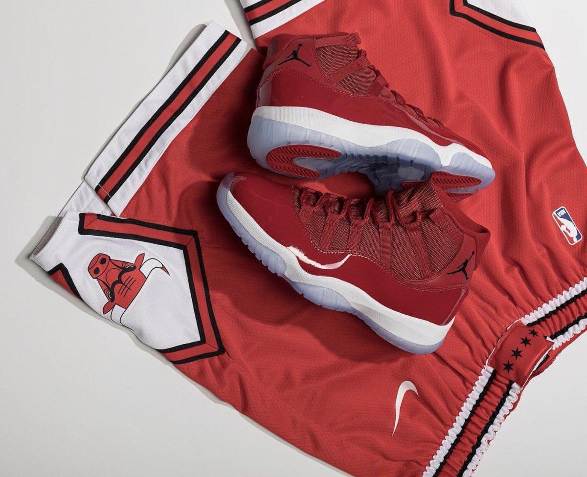 83bfebc9e2 RESTOCK at 7AM PT/10AM ET via @FinishLine Air Jordan 1 H2H =>  http://bit.ly/2KBzp82 Air Jordan 11 'Win Like 96' => http://bit.ly/2CAp2Ni Air  Jordan 12 ' ...