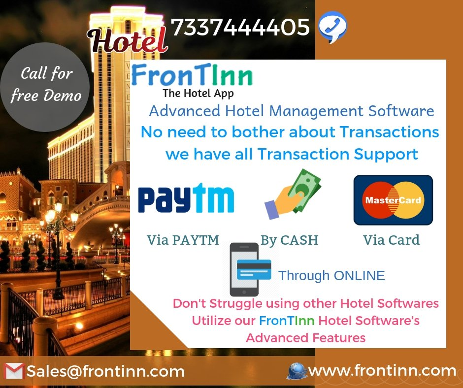 Frontinn Hotel software (@Frontinnapp) | Twitter