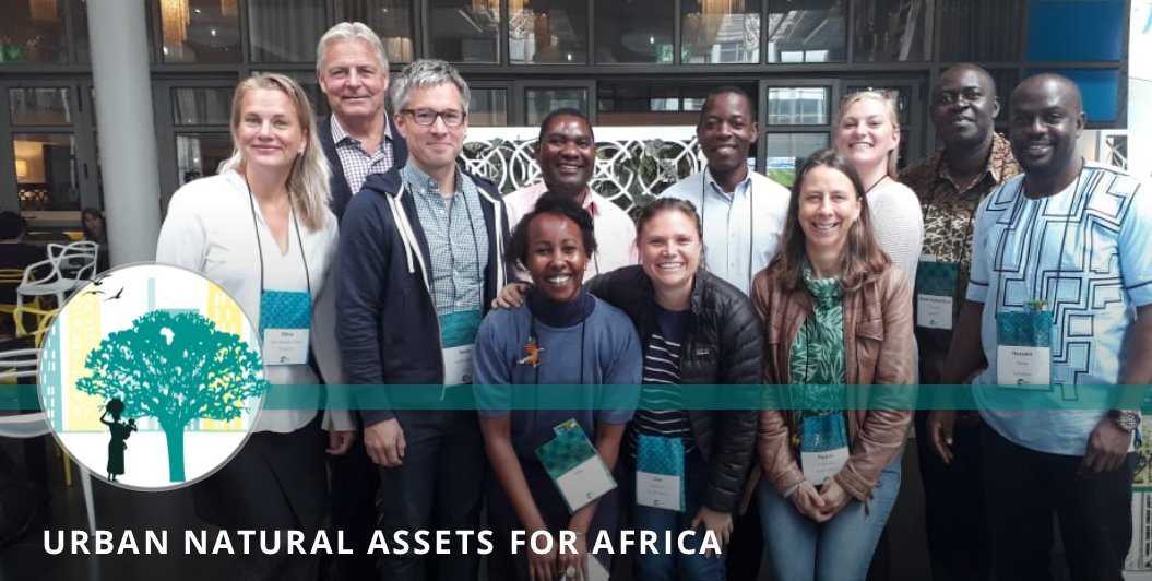 Our UNA teams meeting at the #URBIO 2018 conference in #CapeTown #SouthAfrica  #UNARivers #UNACoasts @SwedBio @sthlmresilience