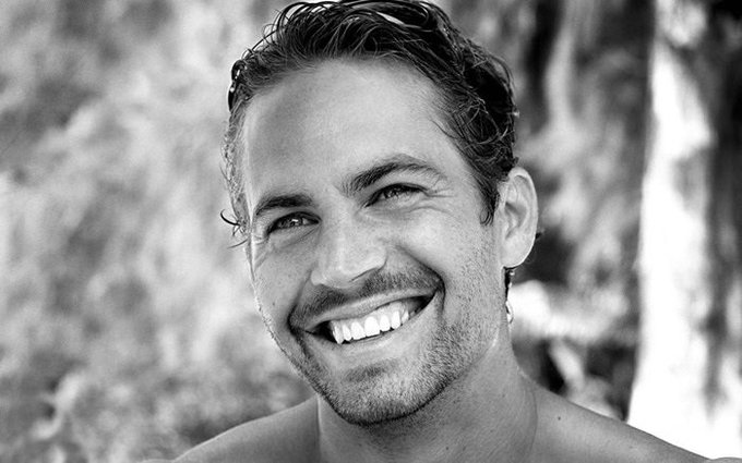 Happy birthday, Paul Walker